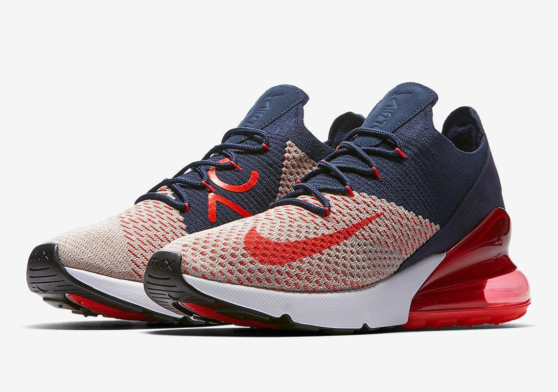 Nike Air Max 270 USA AH6803 200 WMNS Release Info