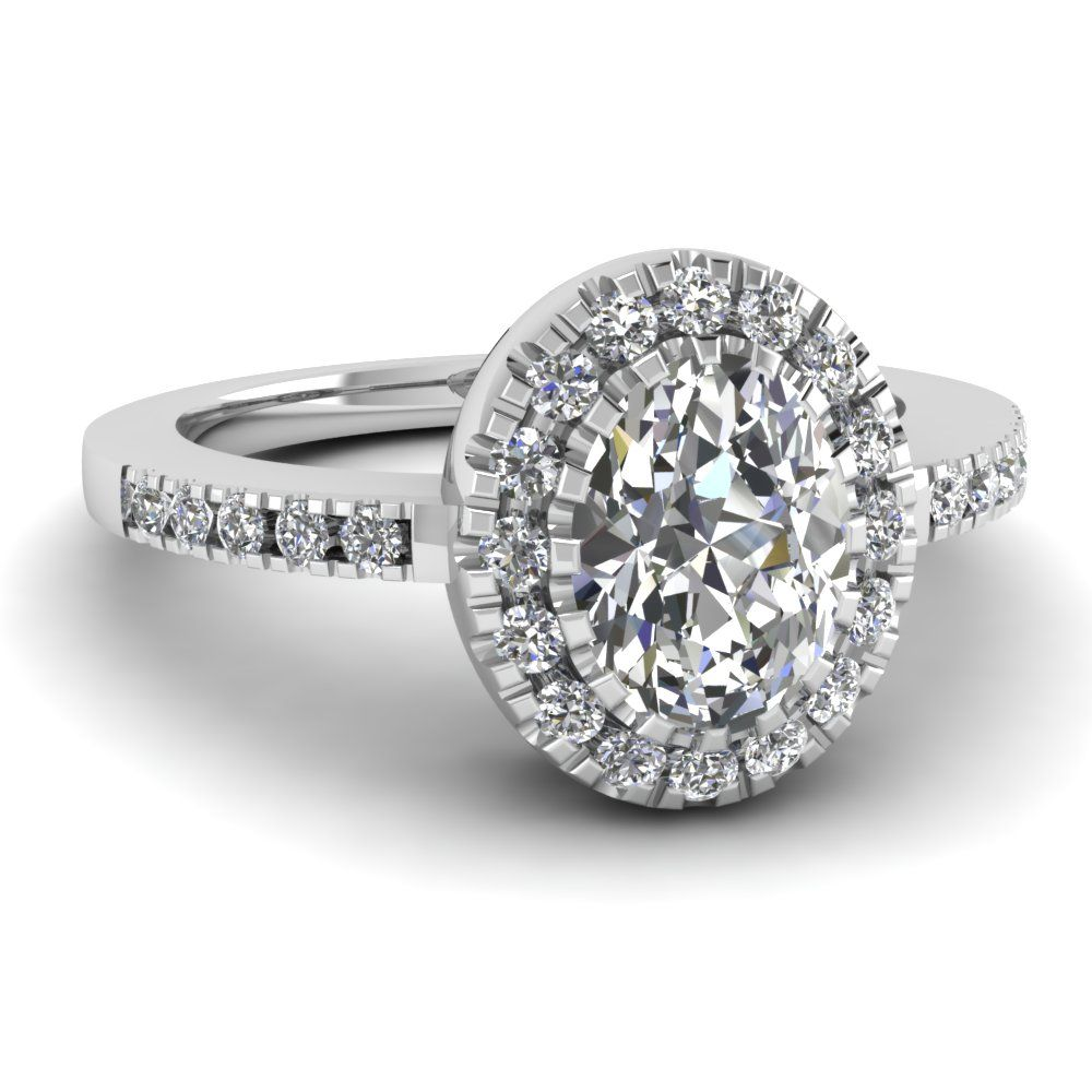 Best deals on Halo Engagement Rings at Fascinating Diamonds Get