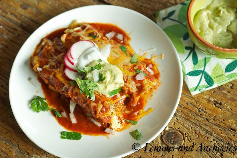 Chicken and Spinach Enchiladas-3