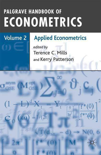 Palgrave handbook of econometrics volume 2 applied econometrics palgrave handbook of econometrics volume 2 applied econometrics fandeluxe Choice Image