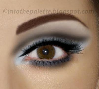 A Modernized 60 S Eye Makeup Tutorial Eye Makeup Tutorial