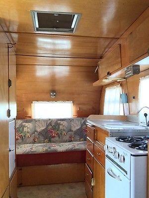 50's interior | Vintage camper trailers interior, Vintage ...  |1950s Vintage Travel Trailers Inside