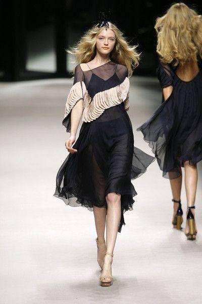 Sonia Rykiel at Paris Fashion Week Spring 2008 - Runway Photos