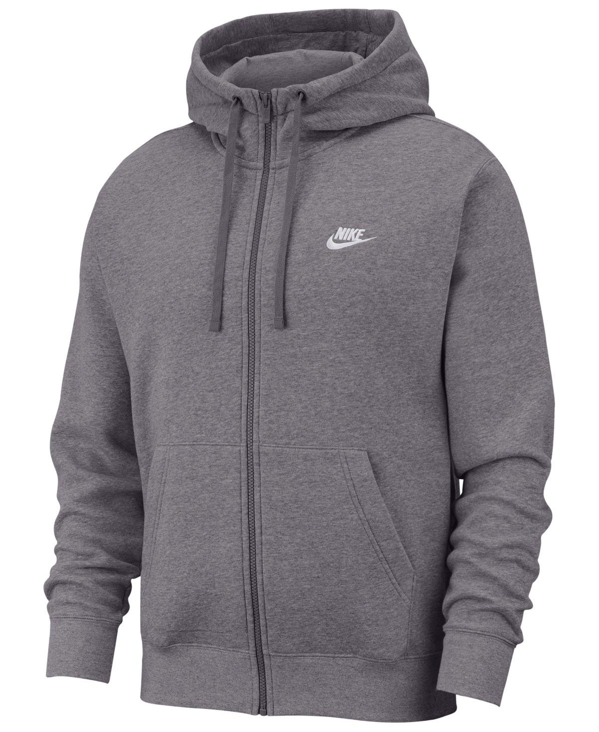 Nike Men S Club Fleece Full Zip Hoodie Reviews All Activewear Men Macy S Full Zip Hoodie Nike Hoodie Hoodies [ 1467 x 1200 Pixel ]