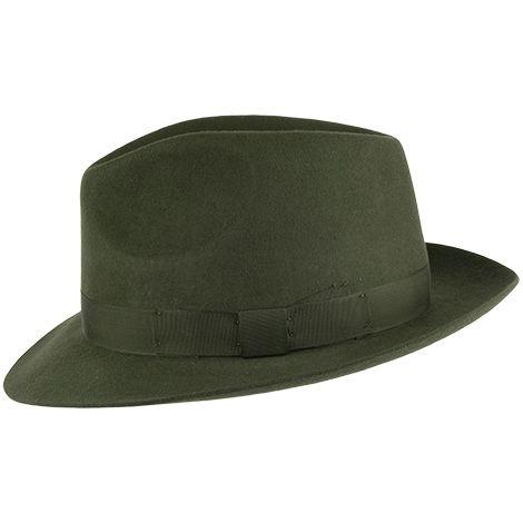3abb5a4c3 Denton Hats Goodwood Wool Felt Fedora - Sage   Panama   Hats, Wool ...