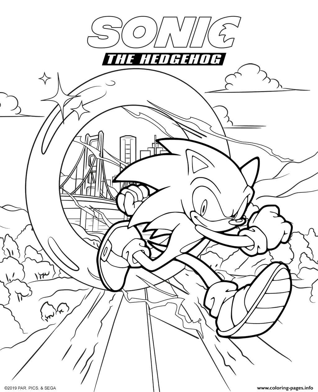 Print Sonic The Hedgehog Movie 2020 Coloring Pages Coloring Pages Hedgehog Movie Hedgehog Drawing