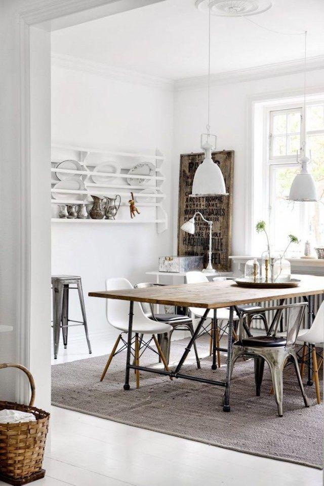 Intérieur blanc et bois – 40 idées inspirantes à emprunter | 3F ...