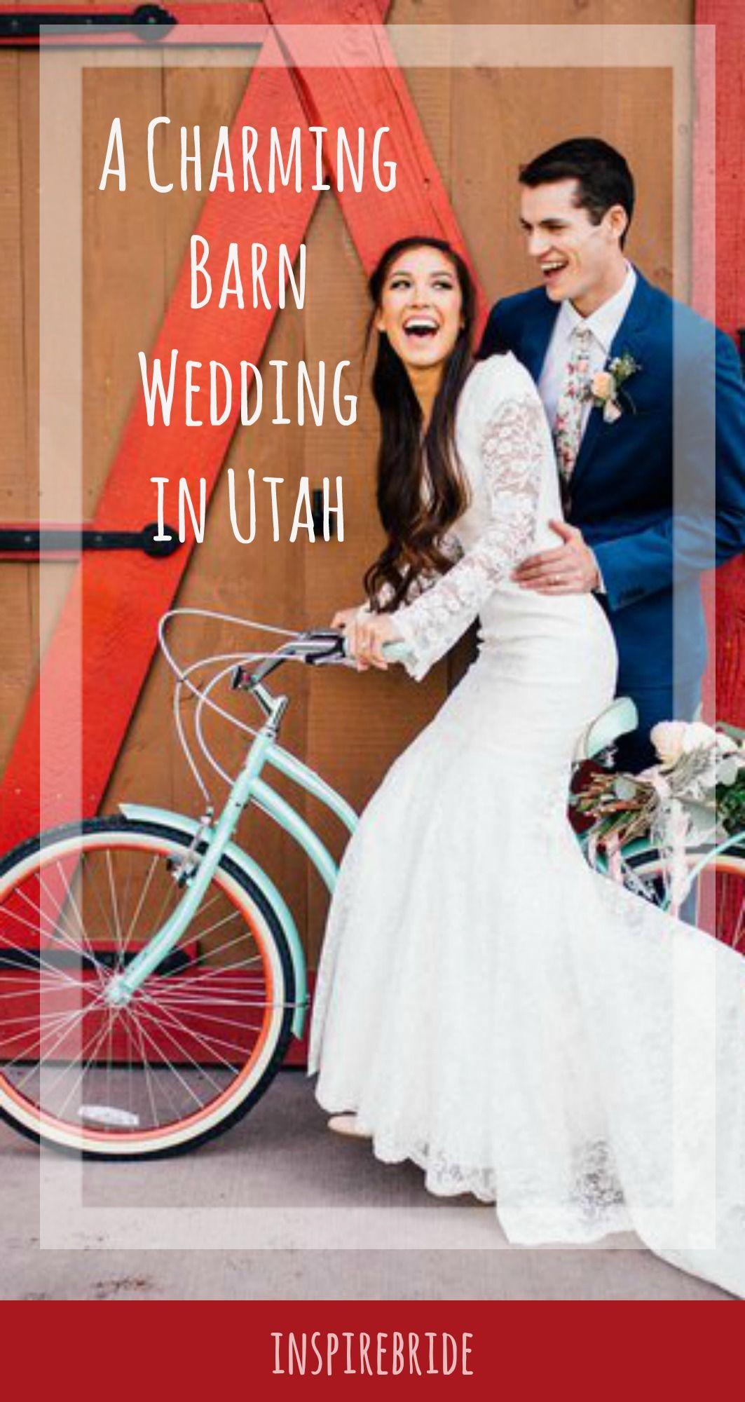A Charming Barn Wedding In Utah