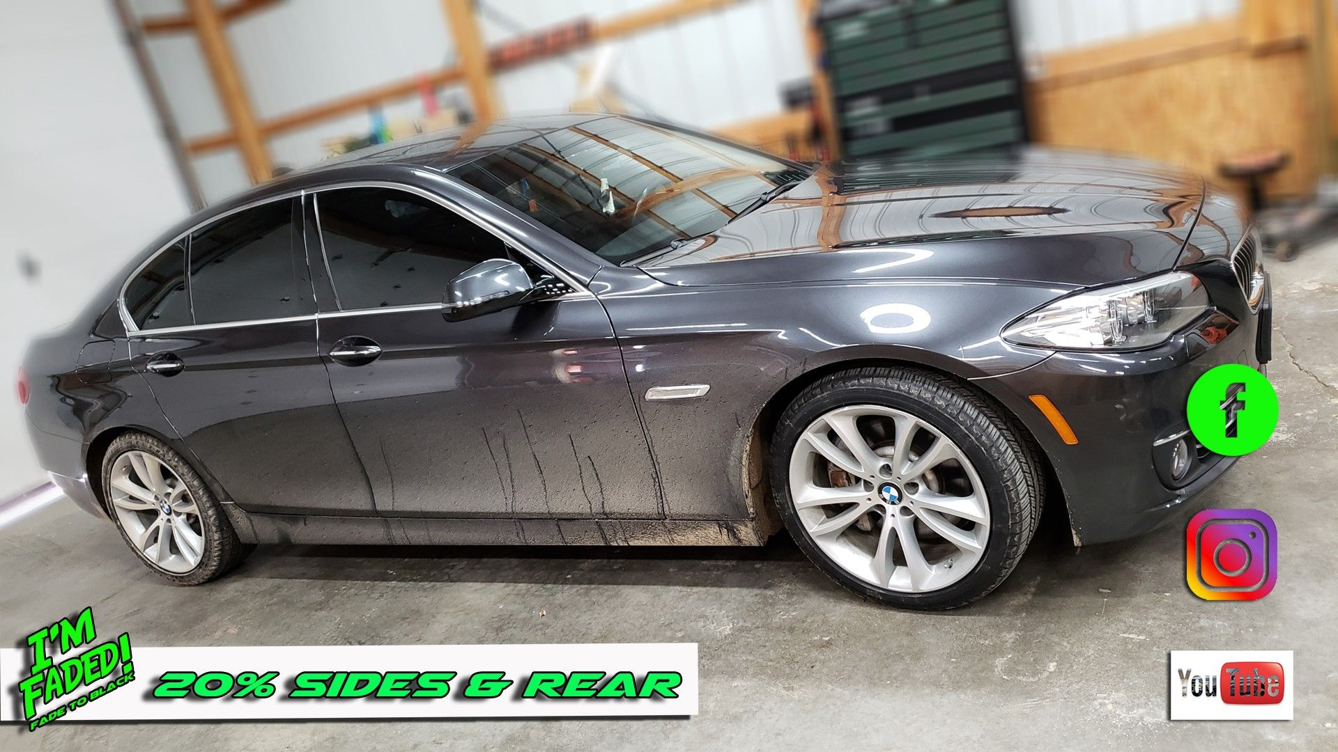 535d With 20 Sides And Rear With Images Fade To Black Bimmer