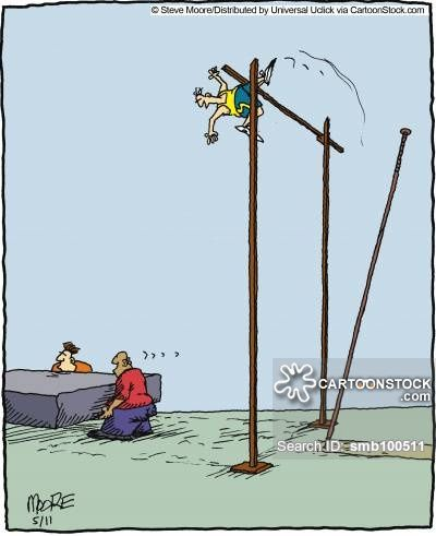 pole vaulting cartoons - Google Search | Tickled Pink..Olympic Fever ...