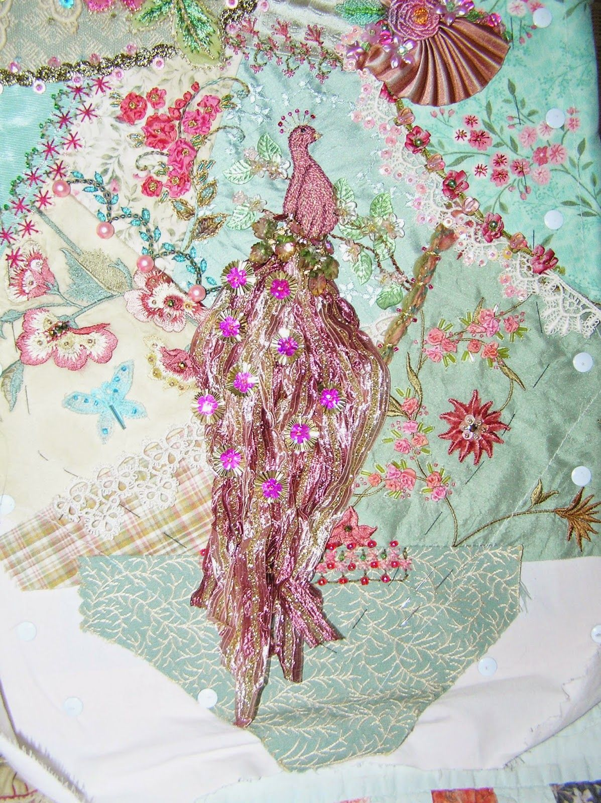 Crazy Quilting And Embroidery Blog By Pamela Kellogg Of Kitty And Me