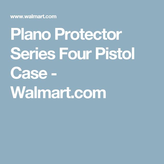 Plano Protector Series Four Pistol Case Walmartcom Gopro
