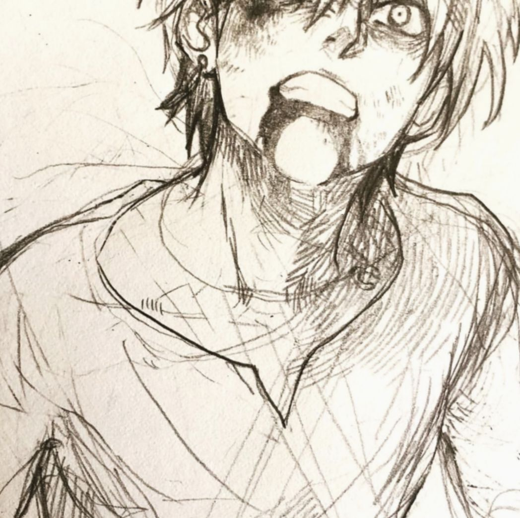 Boy Face Sketch Practice By Theoneg On Deviantart Face Sketch Anime Male Face Anime Drawings