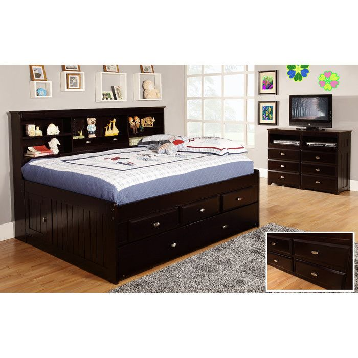 Discovery World Furniture Captain S Bed With Trundle Reviews Wayfair