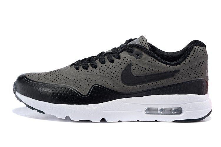 the best attitude bf6fc 6610f Nike Air Max 1 Ultra Moire CH Grey Black Mens Running shoes 724390-003 Size  Euro 40-46 US 7-12