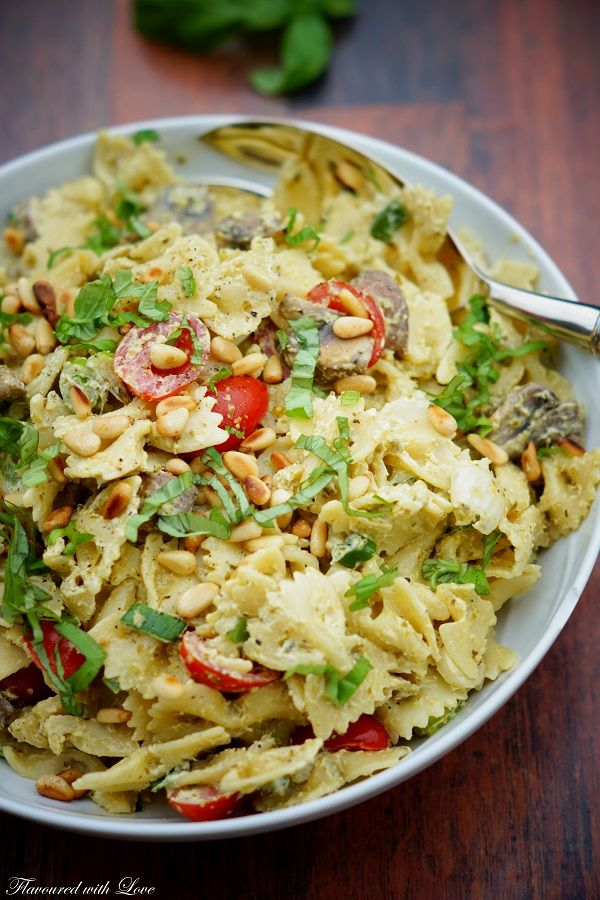 Photo of Pesto pasta salad