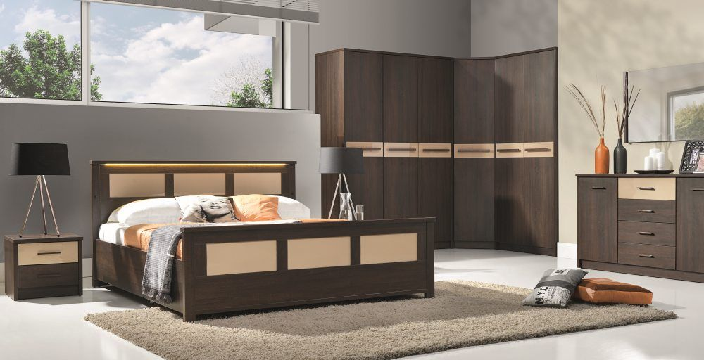 Cremona 4 | Black bedroom sets, White bedroom set and Cheap bedroom ...