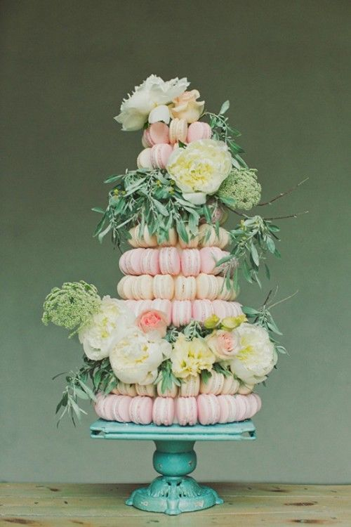 25 Trendy And Unique Macaron Tower Wedding Cakes Lovely Wedding