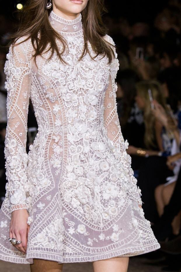 "l'art imite la vie. on Twitter: ""Elie Saab Haute Couture Spring/Summer 2016 (Details) https://t.co/I6j0cIAobS"""
