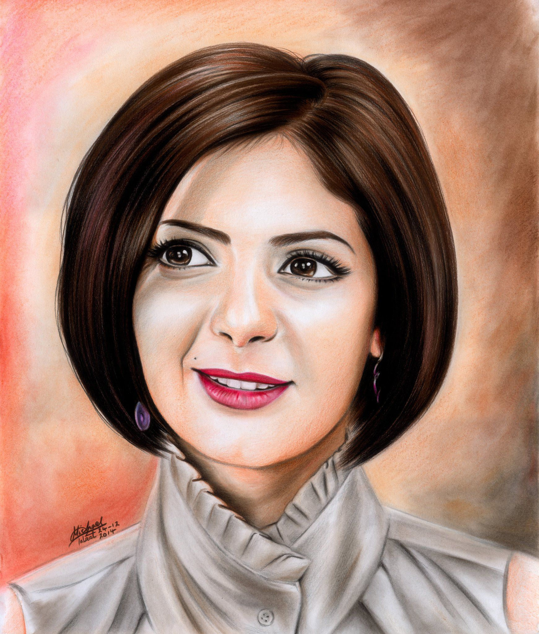 Micho Art Artmicho Egyptian Actress Egyptian Beauty Egyptian Painting