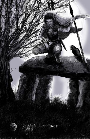 Samhain - The Morrigan by TribeOfCelts.deviantart.com