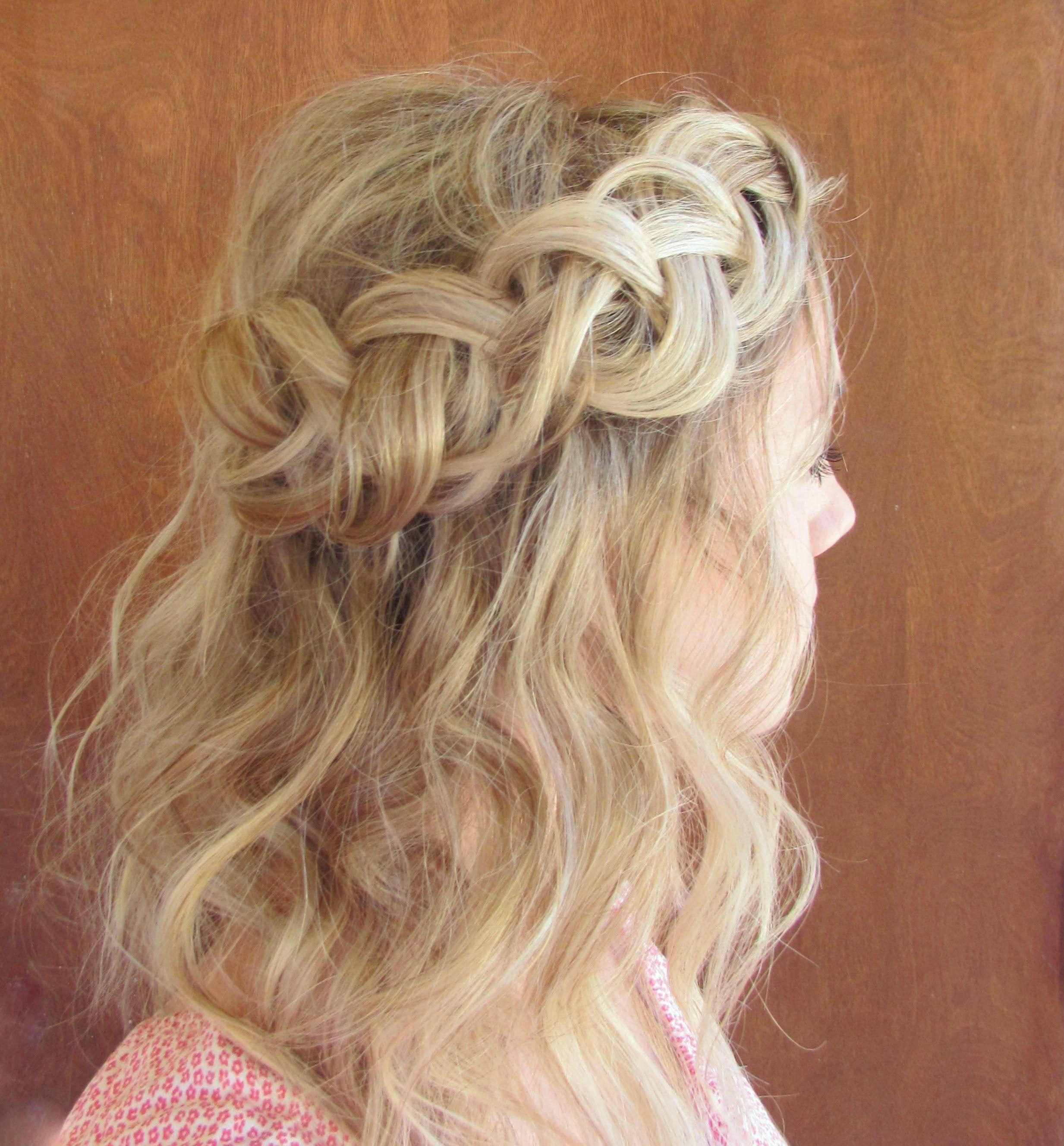 How to giant dutch braid easy hair pinterest dutch braids and