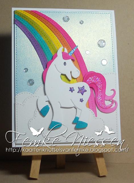 Made By Femke Niessen Unicorn On The End Of The Rainbow Mft