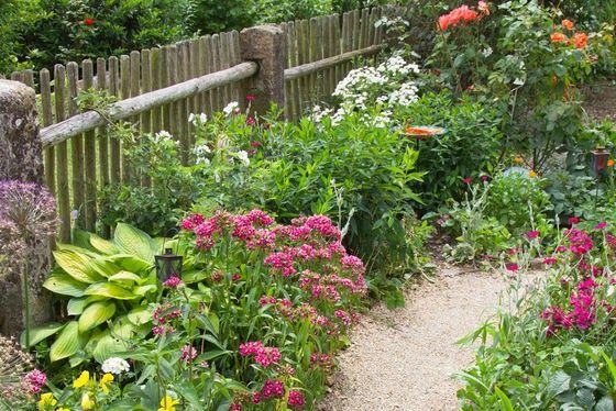 Ogrod Przydomowy Styczen 2014 Country Gardening Garden Fence Garden Inspiration