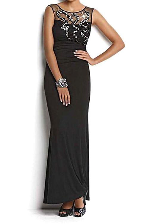 Explore Belles Choses, Pas Cher, and more! Robe de soiree Femme noir ...