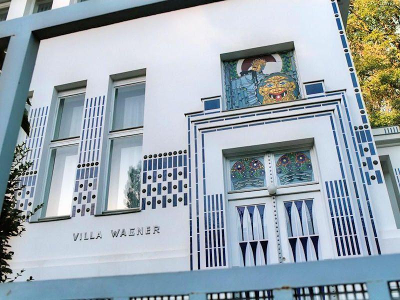 Villa wagner ii 1912 1913 h ttelbergstra e penzing for Tete de fenetre