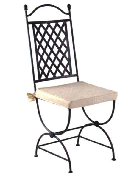 chaise lilas, chaises fer forgé pas cher, la remise | fer forgé