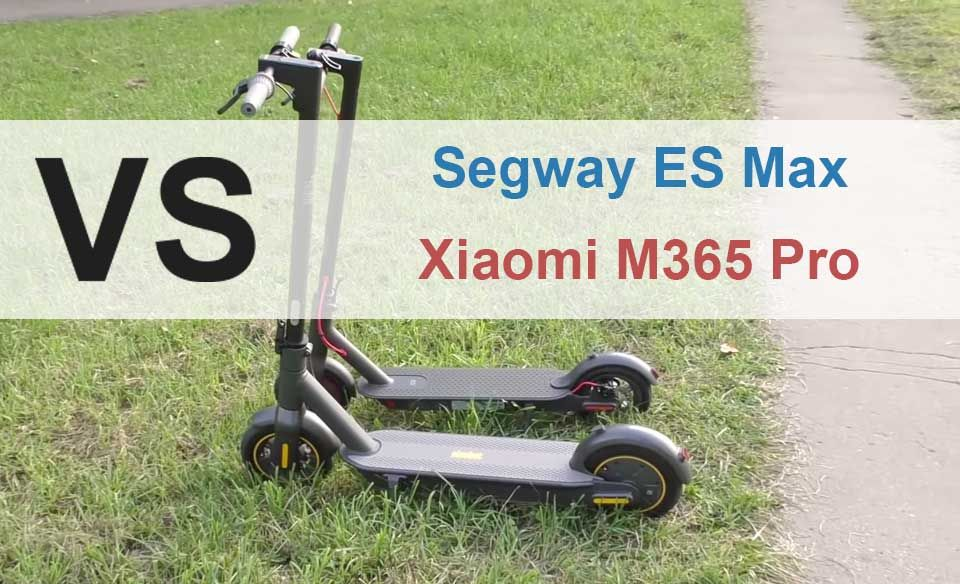 Segway Ninebot Es Max Vs Xiaomi M365 Pro Side By Side Comparison