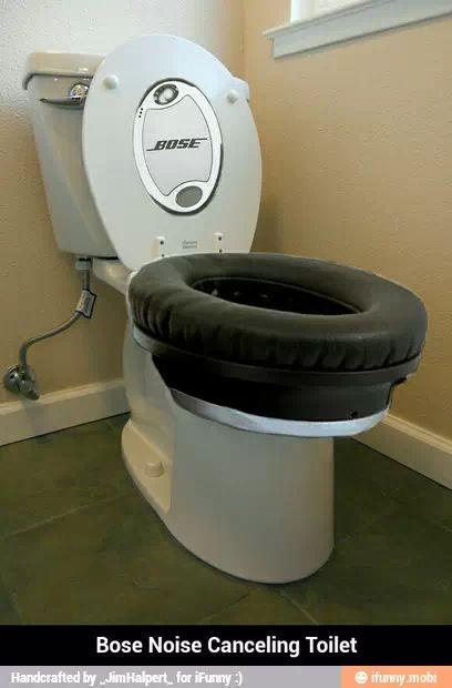 Bose Noise Canceling Toilet Seat Bose Noise Cancelling Toilet