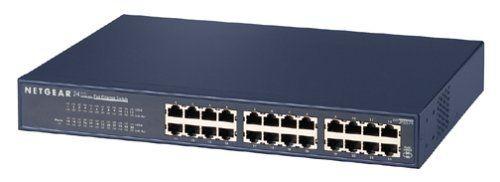 Fast Ethernet Rackmount JFS524 NETGEAR 24-Port Fast Ethernet Unmanaged Switch
