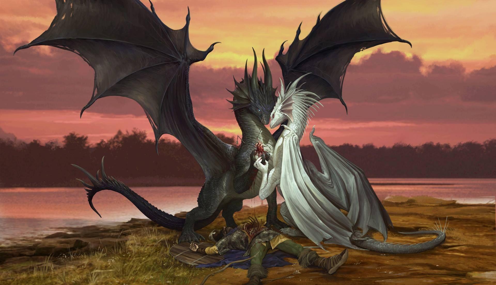 другу картинки с драконами всем остальном