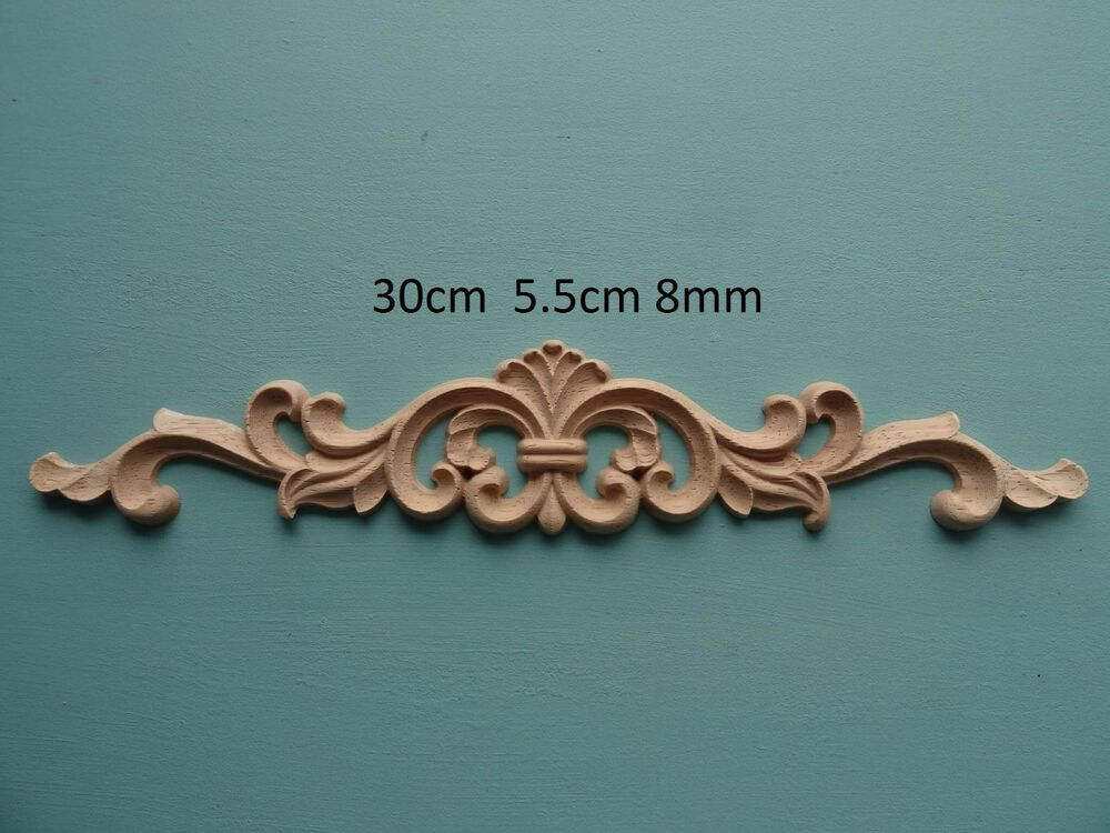 ORNATE DECORATIVE FURNITURE WALL OR FIRE PLACE MOULDING TUDOR ROSE ANTIQUE GOLD