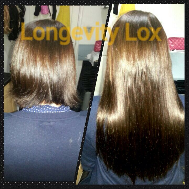 Hair Extensions Colour 2 By Longevity Lox Fabulous Transformation