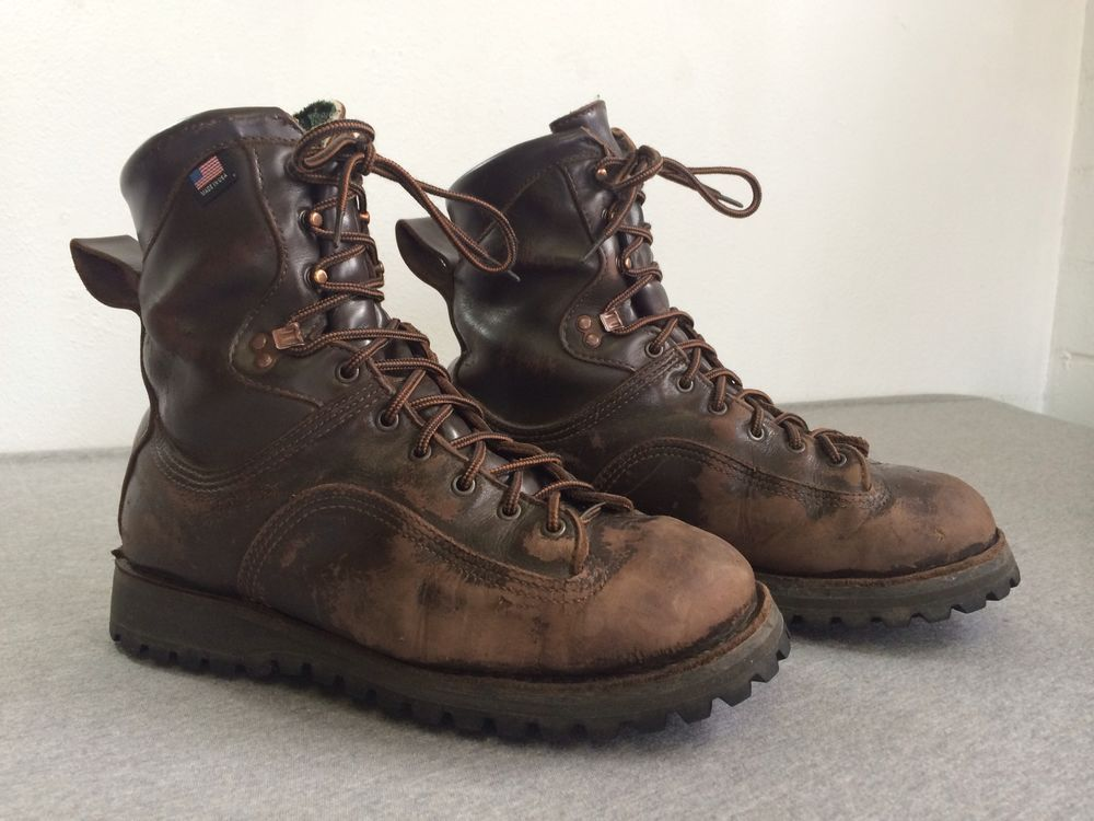 DANNER BOOTS INSULATED Leather SANTIAM 400G GTX Gore-Tex Hunting ...