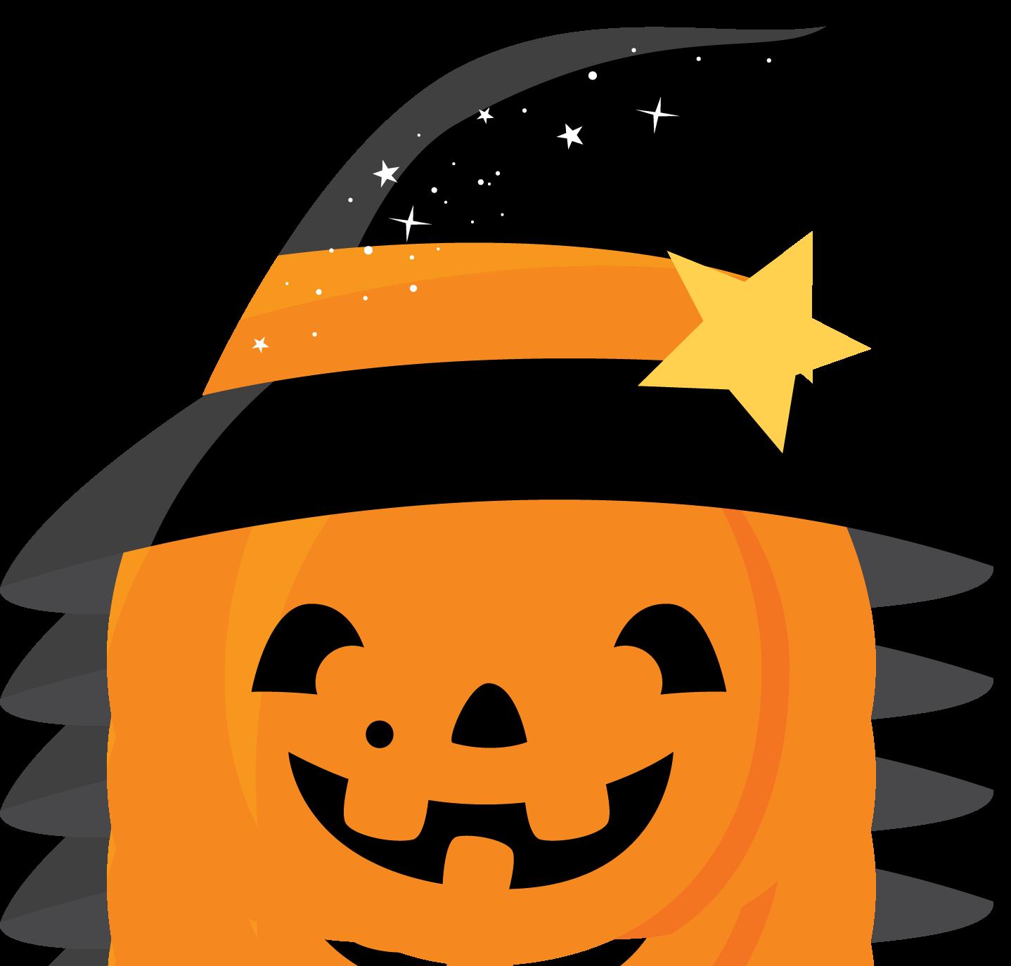 Calabaza con sombrero de bruja clip art pinterest for Halloween pumpkin clipart