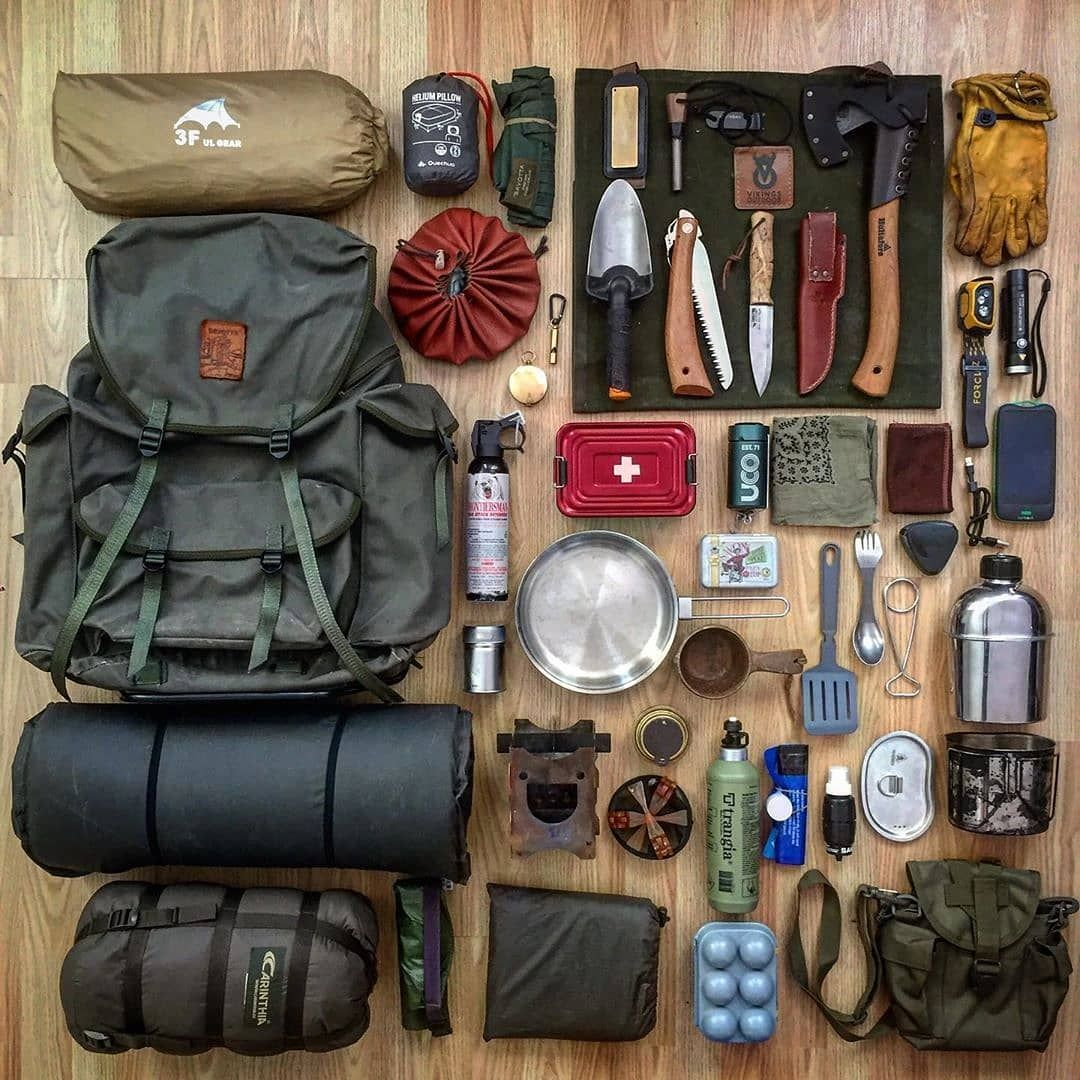 "Photo of NorthStarShop.Com on Instagram: ""Tried and true gear for wild camping. ↟ .  #savotta #savottaview #bushcraft #outdoor #wilderness #bushcraftgear #wildcamping #northsoul…"""