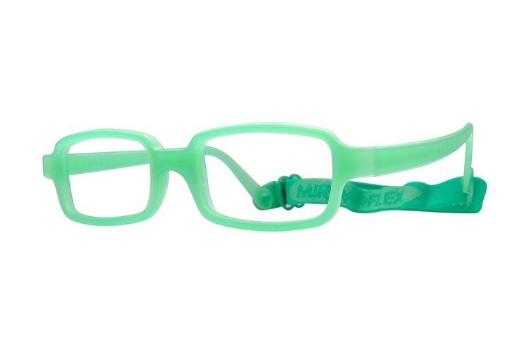 9209f5033a5 Miraflex New Baby 2 (5-8 Yrs) Eyeglasses Clear Green www.cirruseyewear.com  Comfortable and flexible frames for infants