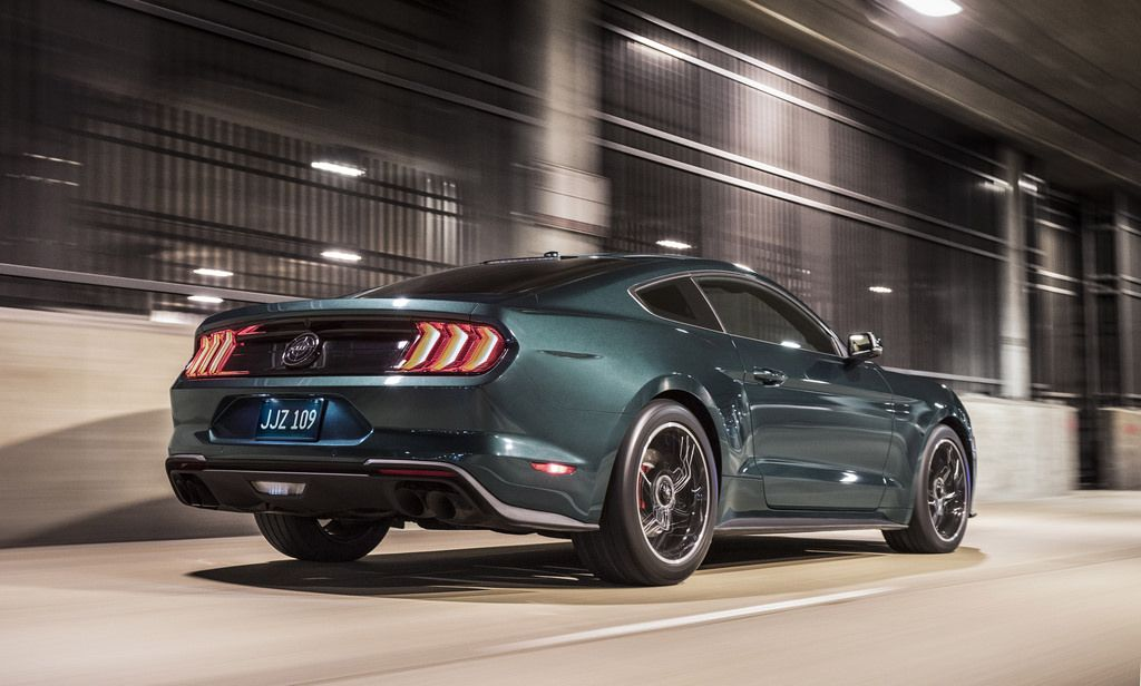 50th Anniversary Mustang Bullitt Revives Silver Screen Legend With