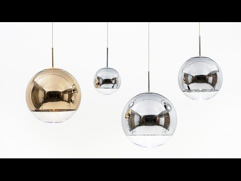 Mirror Ball Pendant Was An Attempt To Produce A Completely Spherical Highly Mirrored Object That Would Disappear Into Its S With Images Ball Lights Mirror Ball Ball Lamps