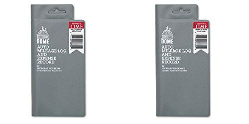 Dome 750 Mileage Log\/Expense Record, 35 x 65 Inches, Logs 324 - what is a mileage log
