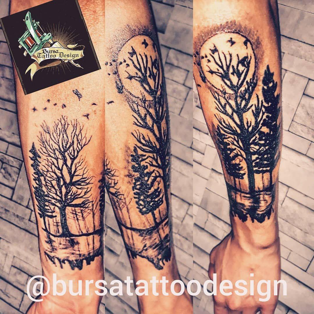 Agac Dovmesi Tree Tattoo Dovme Tattoo Dovme Tasarimlari