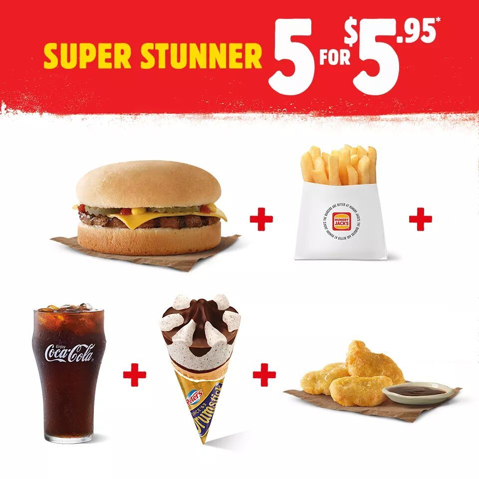 Hungry Jack's Have Launched Their A Brand New Stunner Meal