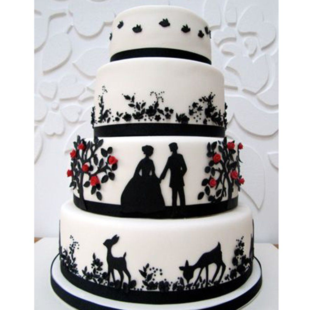 Les plus beaux wedding cakes de Pinterest | Wedding cake, Parfait ...