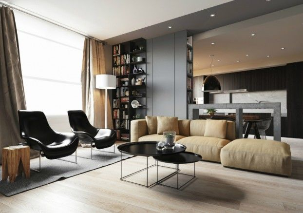 Minimalist Apartment With an Engaging, Laid-Back Temperament - http://www.weddingdayadvisor.com/home-decor/minimalist-apartment-with-an-engaging-laid-back-temperament.html