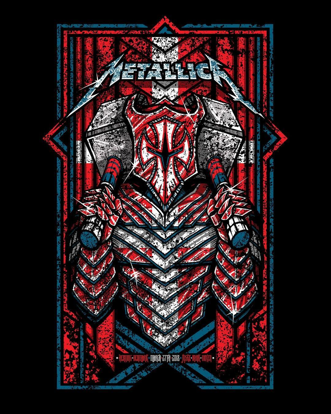 102 7k Vind Ik Leuks 275 Reacties Metallica Metallica Op Instagram Tonight In Herning Jyske Bank Boxen Metallica Art Metallica Metallica Logo