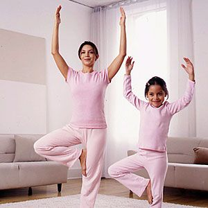 five yoga poses you can do with kids pose 1 tree  share